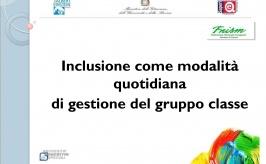 Inclusione come modalità quotidiana di gestione del gruppo classe