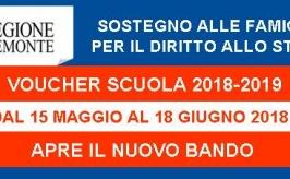 Regione Piemonte: Sostegno alle famiglie per il diritto allo sudio